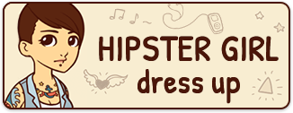 Hipster Girl Dress Up
